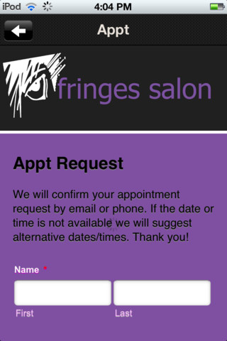 Fringes Salon