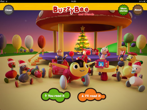 A Christmas Tale for iPad by Buzzy Bee & Friends 1.0.0