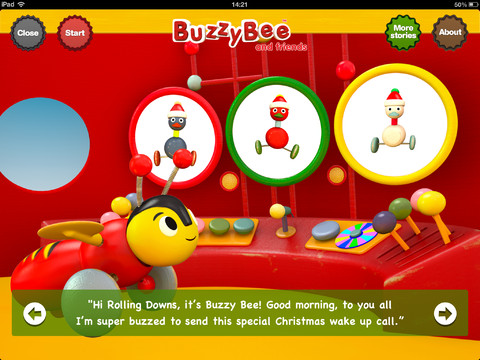 A Christmas Tale for iPad by Buzzy Bee & Friends