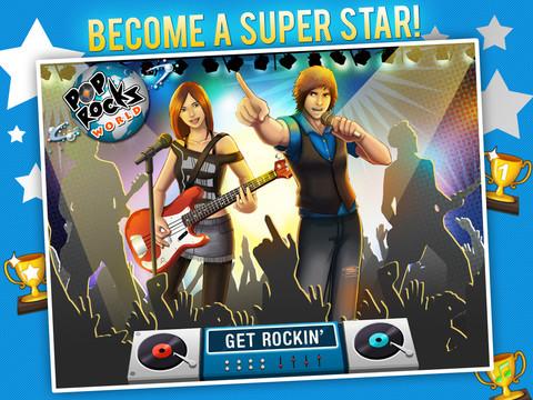 POP ROCKS WORLD HD - MUSIC RPG GAME