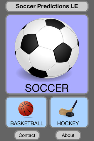 Soccer Predictions LE soccer predictions