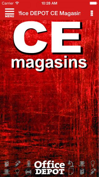 Office DEPOT CE Magasins projector screen office depot