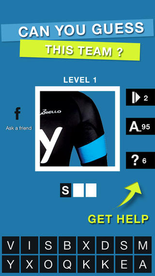 Cycling Jersey Quiz - Guess the pro cycling team ! Game for road cycling fans : Team Sky, OPQS, BMC... cycling news