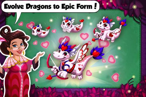 Dragon Story: Valentine`s Day