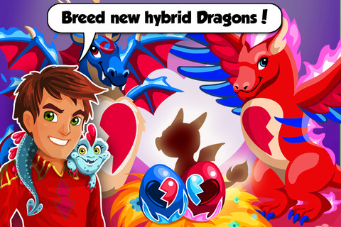Dragon Story: Valentine`s Day