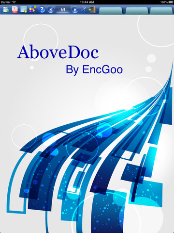AboveNoteLite - create PDF with spreadsheet, chart, image, text and drawing