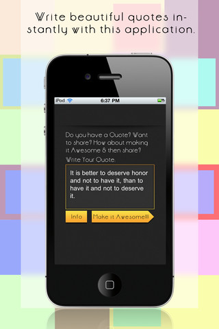 Quotes for Instagram 1.0 App for iPad, iPhone - Social Networking