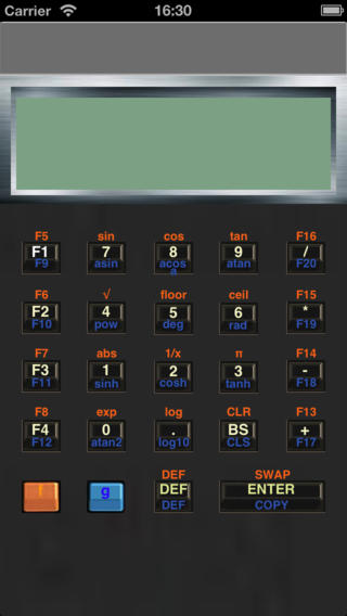 Calc-Lua -Progrmmable Calculator portable screens