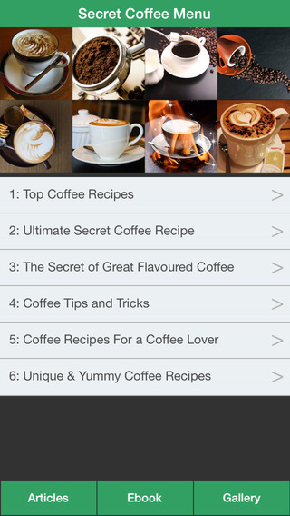 Secret Coffee Menu - Make Your Perfect Coffee With Coffee Recipes Collections! coffee mugs