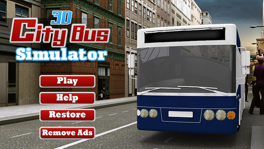 3D City Bus Simulator - an extreme real bus parking and simulation game experience city sightseeing bus