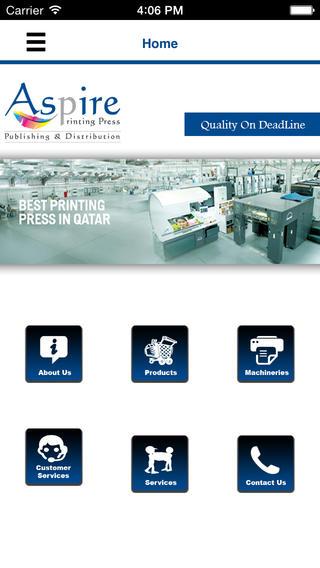 Aspire Printing Press printing press history
