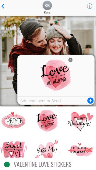 Valentine Love Stickers valentine 39 s day
