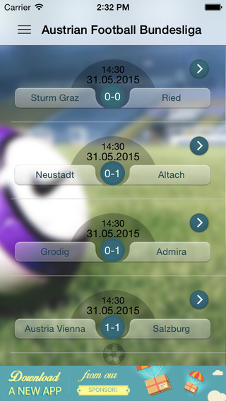 Austrian Football Bundesliga austrian air