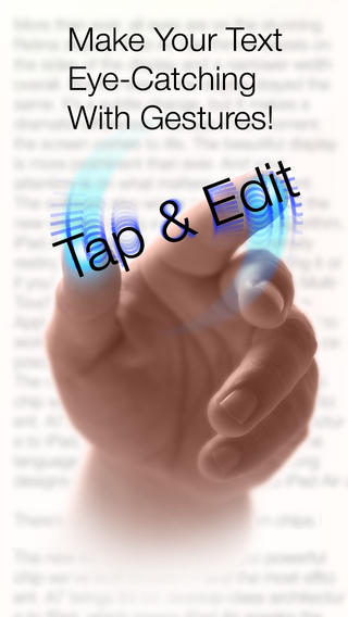 Tap & Edit - Create, Edit and Visually Format Text Documents edit my account profile