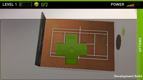 Dunlop Augmented Reality Tennis Ball Game