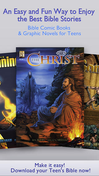 Teen`s Bible – Christian Comic Books and Graphic Novels for Teenagers teenagers mcr