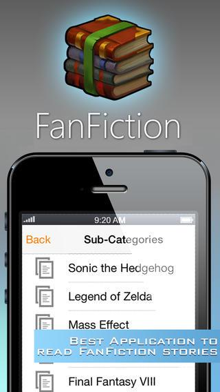 FanFiction Reader - Best Reader for your Fanfiction stories or fanfics smosh fanfiction