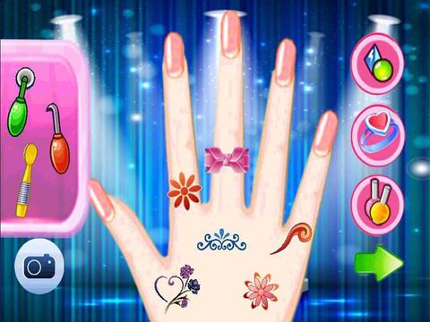 Celebrity Nail Salon - Art Girls Mini Games for Kids art games for kids