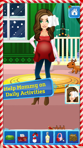 A Newbie Baby Care - Mommy`s Newborn Baby Nursing & Feeding Game for Kids