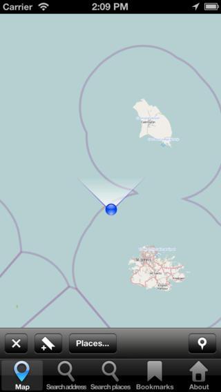 Map Antigua and Barbuda: City Navigator Maps antigua barbuda map