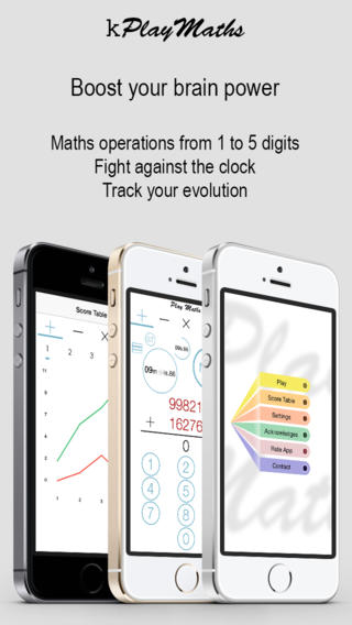 kPlayMaths operation game