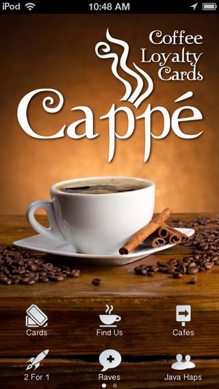 Coffee Cards coffee shop