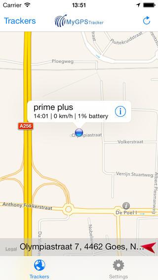 My GPS Tracker Personal GPS locator at tracker web