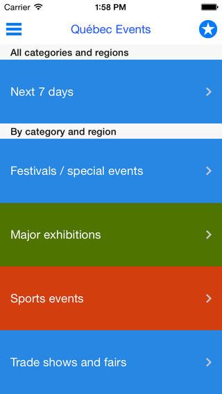 Québec Events - entertainment and tourism in Quebec quebec flag