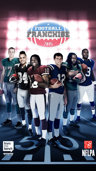 Football Franchise 2014- National Football League Players Association Fantasy Football by From the Bench Games nfl fantasy football