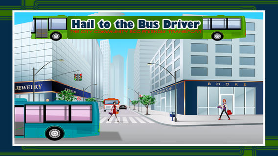 Hail to the Bus Driver : The City Community eco friendly transport - Free Edition eco friendly wallpaper
