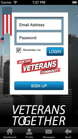 Veterans Together – A Social Network for Veterans by Veterans veterans