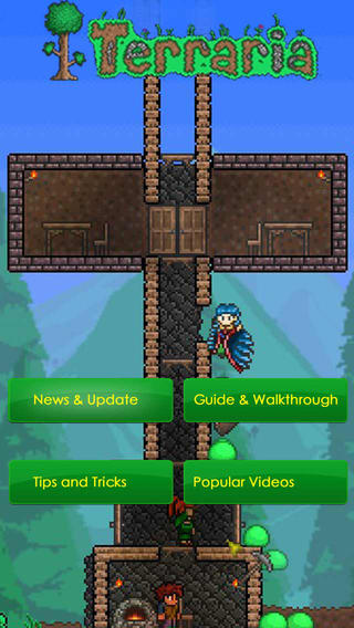 Guide for terraria ios version mods maps crafting recipes quotes