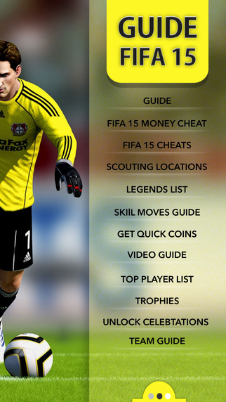 Guide for FIFA 15 - Cheats, Trophies, Teams & players fifa games free