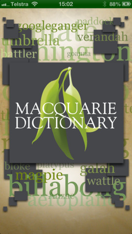 Macquarie Senior Student Dictionary