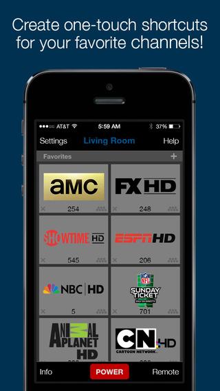 Yoke Remote for DIRECTV program directv remote