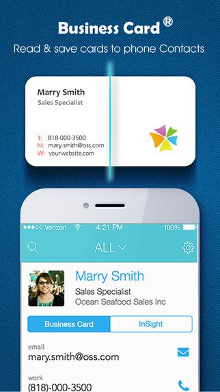 Business Card - business card reader & business card scanner & visiting card & scan card business card printing
