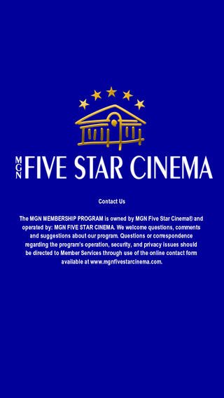MGN 5 Star outdoor theater system