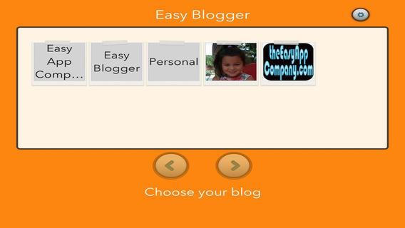 Easy Blogger blogger