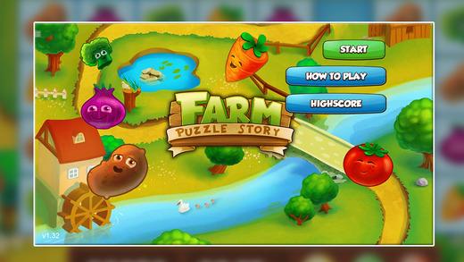 Farm Puzzle Story. horseshoe