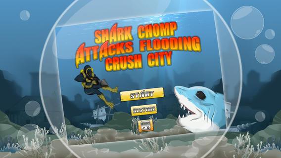 Shark Chomp Surfers-Attack Flooding Crush City Free by Appgevity LLC houston flooding