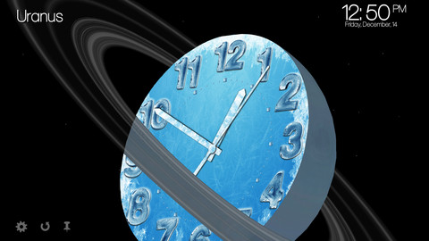 Planet Clocks 3D - for iPhone!
