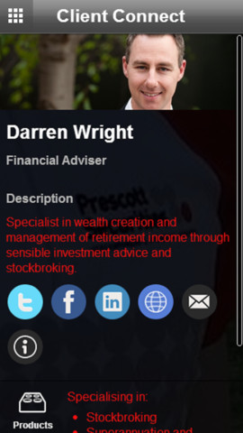 Darren Wright Client Connect
