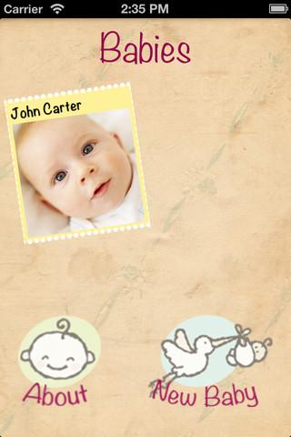 My Baby Book App book cataloging app