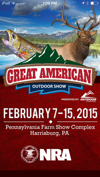 Great American Outdoor Show farm progress show 2015