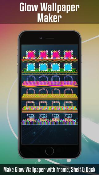 Glow Wallpapers Maker & Screen Builder for Home Screen & Lock Screen Backgrounds projector screen rentals