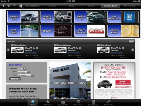 Download Carl Black Orlando Chevy Buick GMC iPhone iPad iOS
