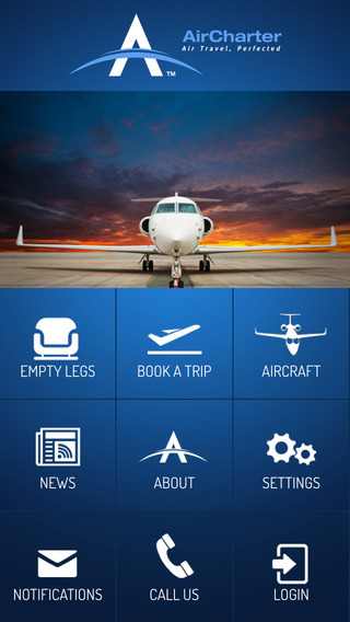 AirCharter Private Jet Charter private cruise charter