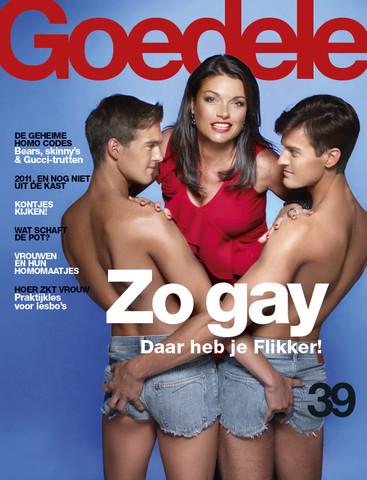 Goedele entertainment alles over for Sanoma magazines belgium