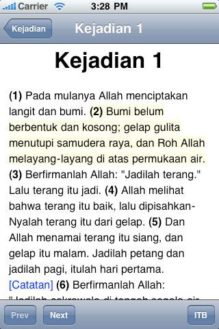 Alkitab Bahasa Indonesia