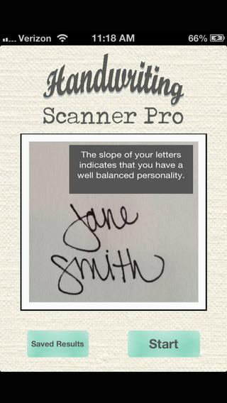 Handwriting Scanner Free handwriting generator
